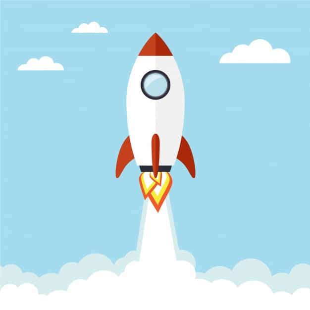 flying rocket background 1270 85 افزايش سرعت سايت وردپرس افزونه WP Rocket